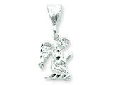 Sterling Silver Praying Angel Charm style: QC1570