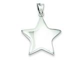 Sterling Silver Star Charm style: QC1669