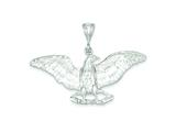 Sterling Silver Eagle Pendant - Chain Included style: QC1703