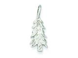 Sterling Silver Christmas Tree Charm style: QC201