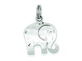 Sterling Silver Elephant Charm style: QC2025