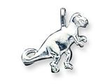 Sterling Silver T-rex Pendant - Chain Included style: QC2539