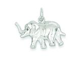 Sterling Silver Elephant Charm style: QC2554