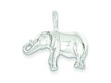 Sterling Silver Elephant Charm style: QC2555