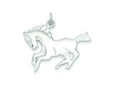Sterling Silver Horse Charm style: QC2651