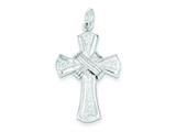 Sterling Silver Cross Charm style: QC2814