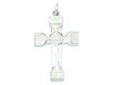 Sterling Silver Iona Cross Pendant - Chain Included style: QC2876
