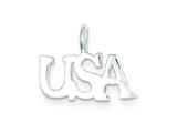 Sterling Silver Usa Charm style: QC3116