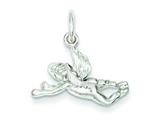 Sterling Silver Angel Charm style: QC3188