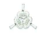 Sterling Silver 3-piece Best Friends Charm style: QC3748