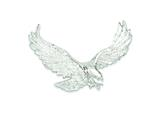 Sterling Silver Eagle Pendant - Chain Included style: QC4065