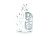 Sterling Silver Hope Chest (opens) Charm style: QC4247
