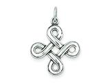 Sterling Silver Celtic Pendant - Chain Included style: QC4717