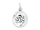 Sterling Silver Celtic Charm style: QC4722