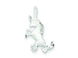 Sterling Silver Unicorn Charm style: QC4833