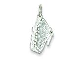 Sterling Silver Butterfly Charm style: QC5006