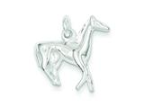 Sterling Silver Horse Charm style: QC5038