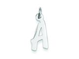 Sterling Silver Medium Initial A Charm style: QC5094A