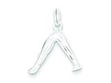 Sterling Silver Yoga Charm style: QC5110