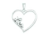 Sterling Silver Pendant - Chain Included style: QC5997