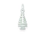 Sterling Silver Christmas Tree Charm style: QC6062