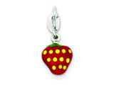 Sterling Silver Enameled Charm style: QC6147