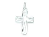 Sterling Silver Cross Pendant - Chain Included style: QC6644