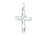 Sterling Silver Cross Pendant - Chain Included style: QC6650