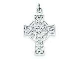 Sterling Silver Antiqued Cross Pendant - Chain Included style: QC6680