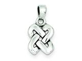 Sterling Silver Celtic Knot Pendant - Chain Included style: QC7006