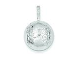 Sterling Silver Baseball Charm style: QC704