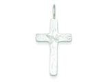 Sterling Silver Cross Pendant - Chain Included style: QC7272