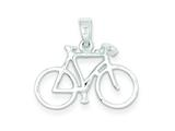 Sterling Silver Bicycle Charm style: QC7588