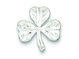 Sterling Silver Clover Pendant - Chain Included style: QC7620