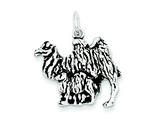 Sterling Silver Antiqued Camel Charm style: QC7847