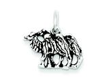 Sterling Silver Antiqued Camel Charm style: QC7848