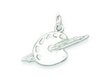 Sterling Silver Palette Charm style: QC796