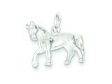 Sterling Silver Horse Charm style: QC853