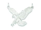 Sterling Silver Eagle Pendant - Chain Included style: QC863