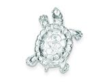 Sterling Silver Turtle Charm style: QC950