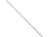 16 Inch Sterling Silver 4.5mm Cable Chain style: QCL120