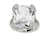Cheryl M Sterling Silver CZ Ring