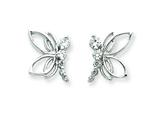 Sterling Silver Cubic Zirconia Journey Earrings style: QE4320