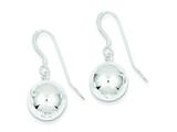 Sterling Silver Ball Earrings style: QE4823