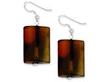 Sterling Silver Dream Agate Earrings style: QE5932