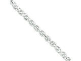 18 Inch Sterling Silver Hollow Cable Chain style: QFC114