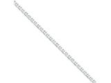 16 Inch Sterling Silver 4mm Hollow Anchor Chain style: QFC121