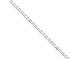 16 Inch Sterling Silver 5mm Hollow Anchor Chain style: QFC122