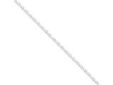 Sterling Silver 2.75mm Loose Rope Chain style: QFC44