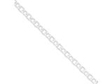 Sterling Silver 6.25mm Fancy Rolo Chain style: QFC49